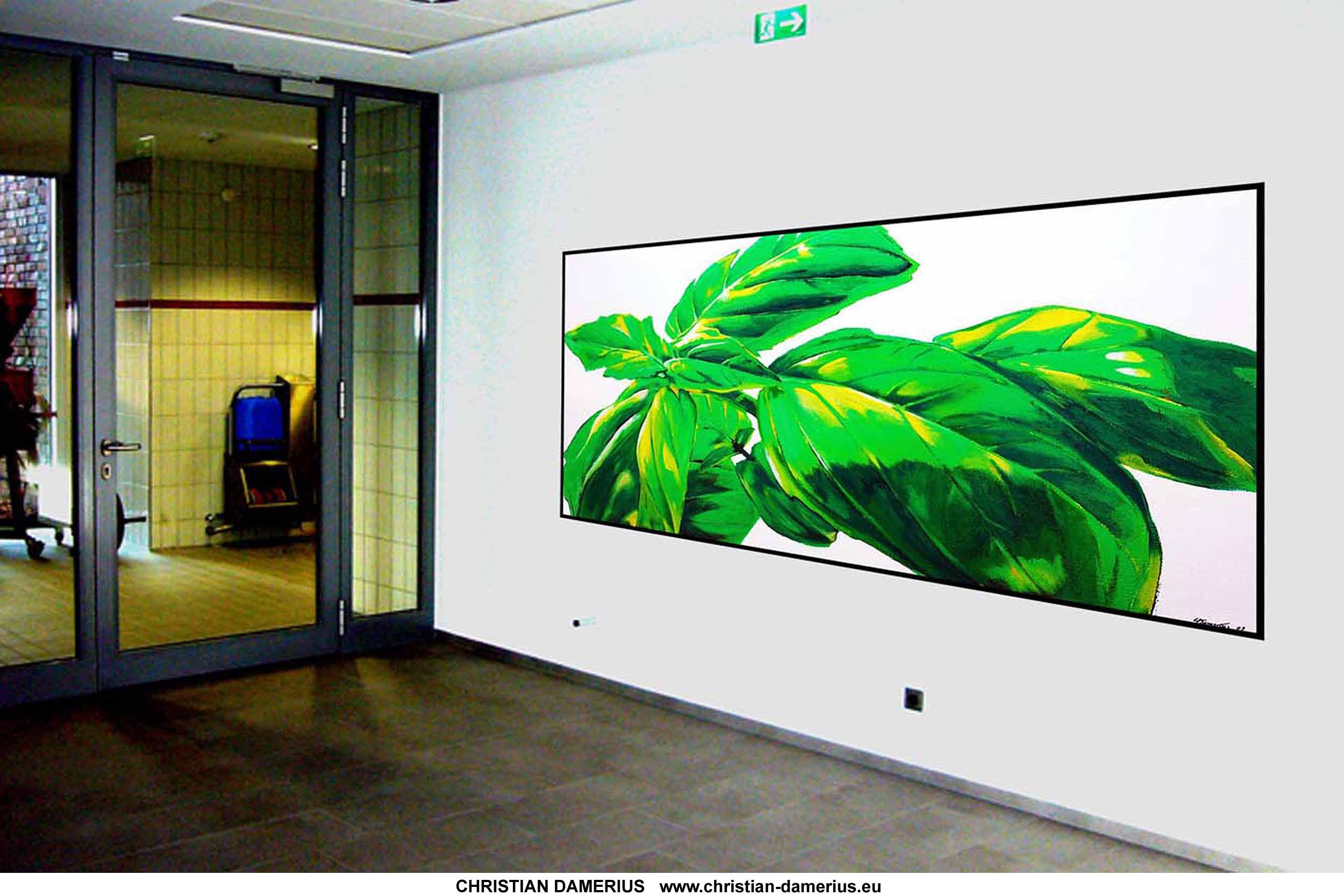 moderne raumgestaltung wandgestaltung kunst f r b ror ume privatr ume malerei kunst galerien. Black Bedroom Furniture Sets. Home Design Ideas