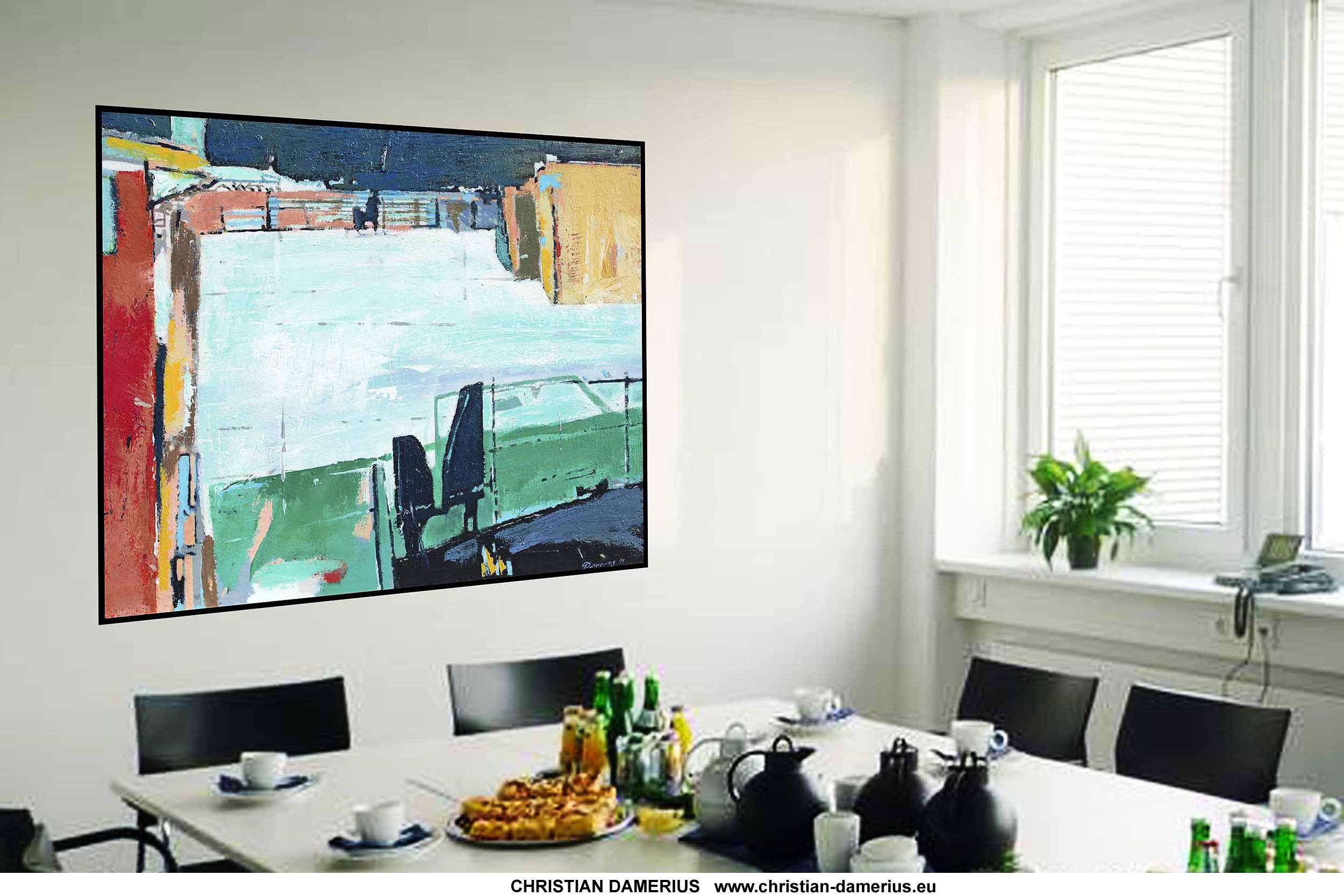 Acrylbilder Hamburg moderne raumgestaltung wandgestaltung kunst für büroräume