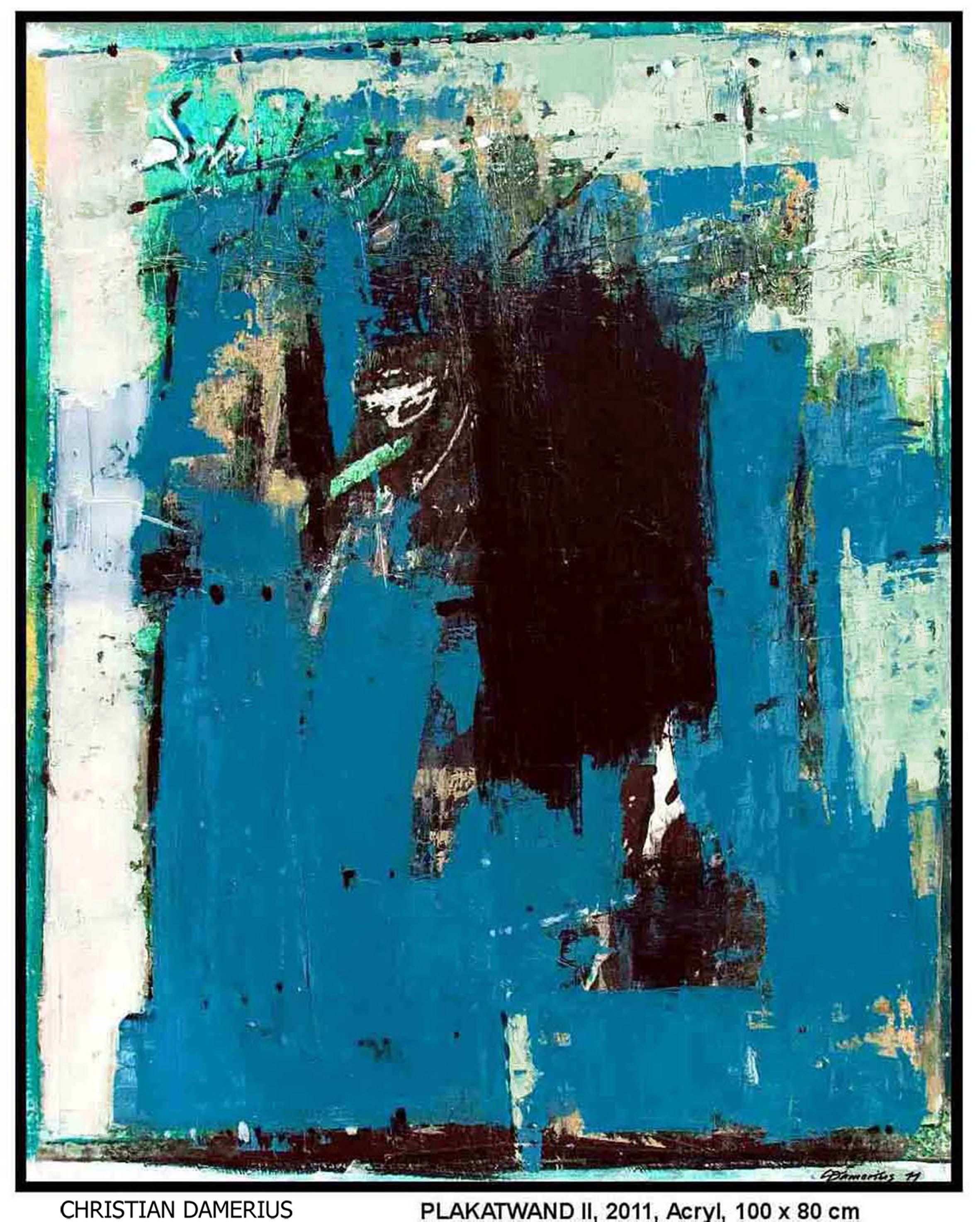 Christian Damerius Farbe Form Abstrakte Malerei Abstraktion
